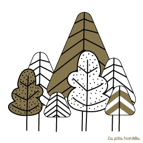 Carte-correspondance-La-forêt-Les-petites-hirondelles
